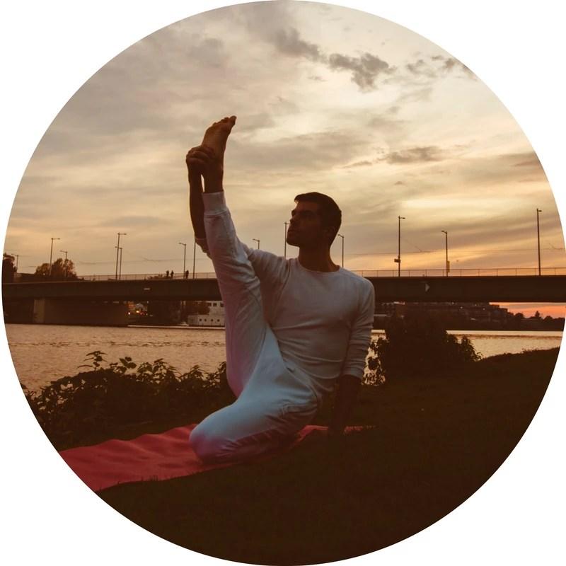 Paolo Amerio, DANCE Yoga, FLYoga, Heidelberg