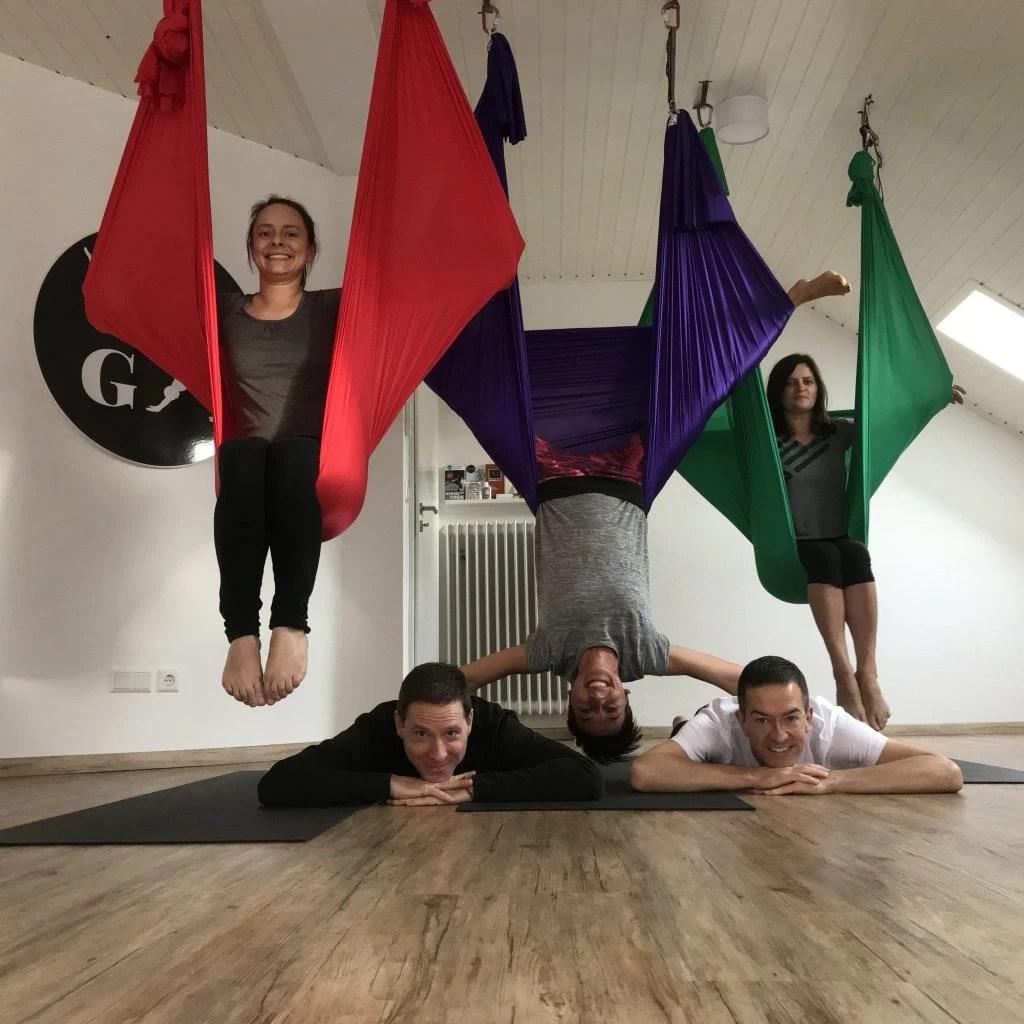 Aerial Yoga Teacher Training, Heidelberg