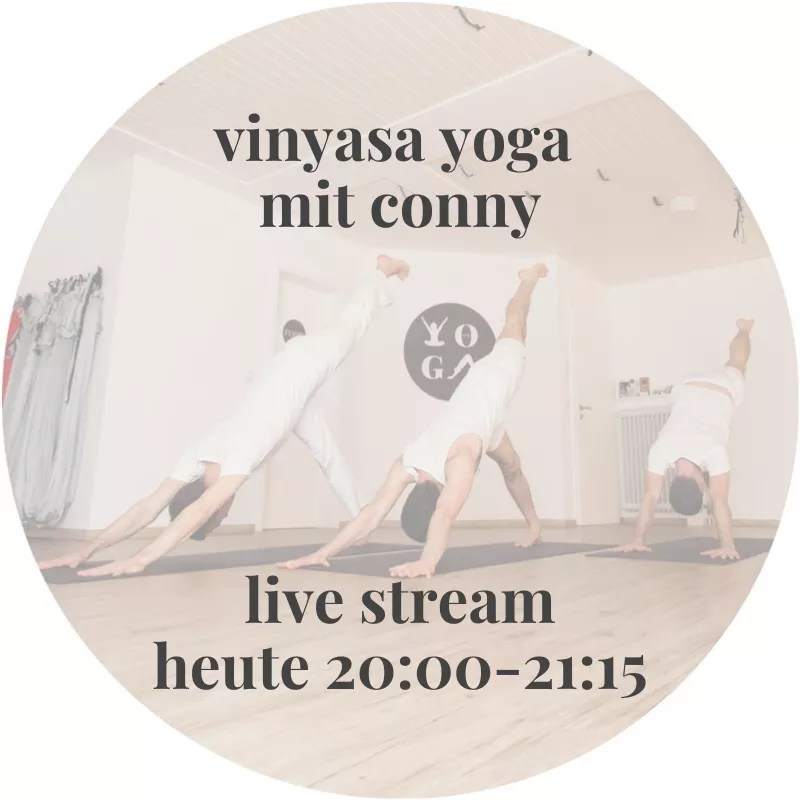 vinyasa yoga live stream