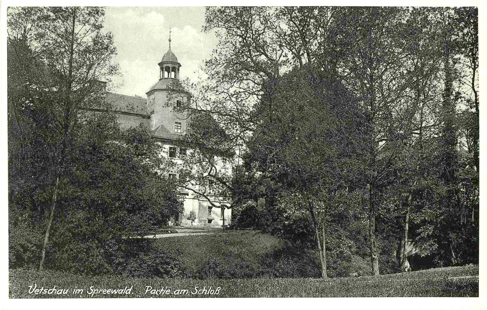 43,1930,02,Vetschau,Schloss