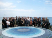 Group shot of the happy 2011 participants in Dun Laoghaire