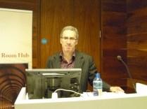 Sam Slote lecture at the Trinity Long Room Hub