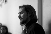 Nicholas Johnson explains the format for the Performance Workshop Presentation 2014