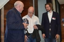 John Minihan, Jonathan Heron and Nicholas Johnson