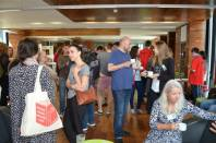 Coffee break in the 'Ideas Space' of the Long Room Hub