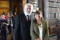 Stephen Brennan and Seona MacRéamoinn