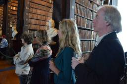Launch ceremony, the Long Room, TCD