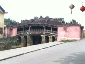 Hoi An famous Japanese Covered Bridge