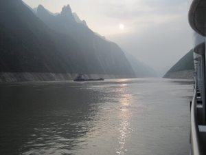 Yangtze River and Wild Shoreline