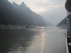 Yangtze River and Wild Shoreline