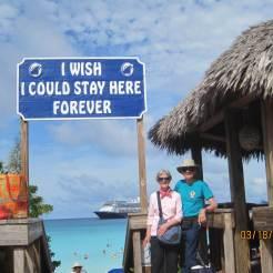 Lorene & David in Bahamas