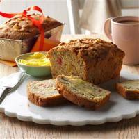 Apple Rhubarb Bread