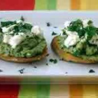 Artichoke and Goat Cheese Bruschetta