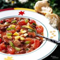 Black Bean Gazpacho