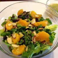 Almond and Mandarin Orange Salad