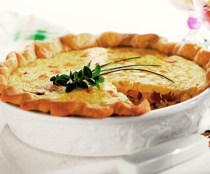 Smoked Turkey Quiche