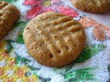 Peanut Butter Honey Cookies