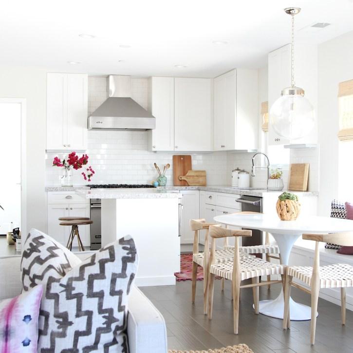 Family Friendly Bohemian Eclectic Kitchen Becki Owens Design