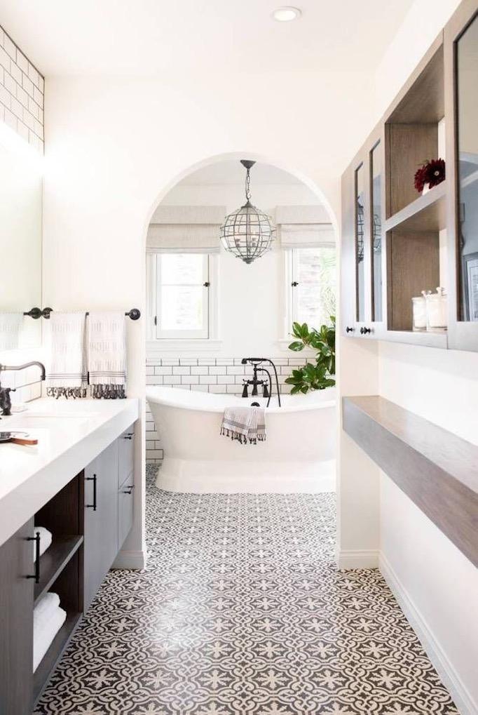 6 Inspiring Bathrooms - Pinterest Favorites