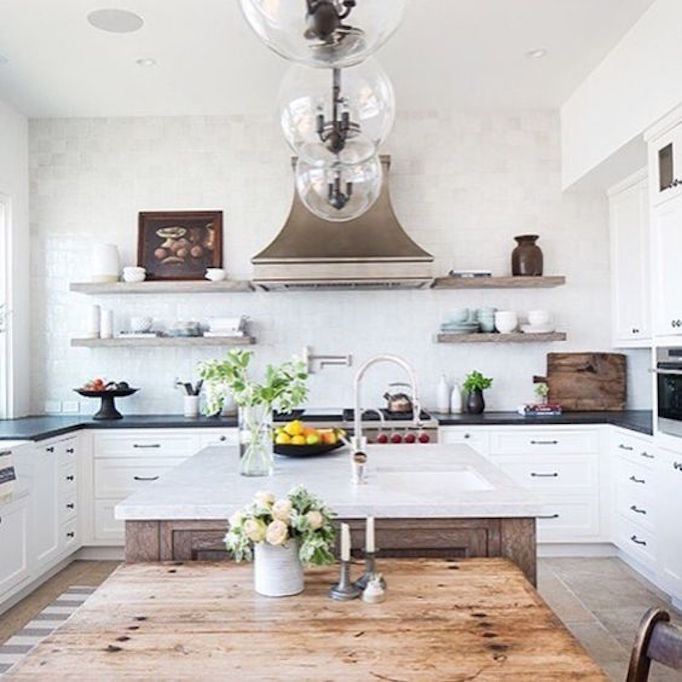 7 Elements of the Modern FarmhouseBECKI OWENS on Farmhouse Rustic Kitchen  id=66772