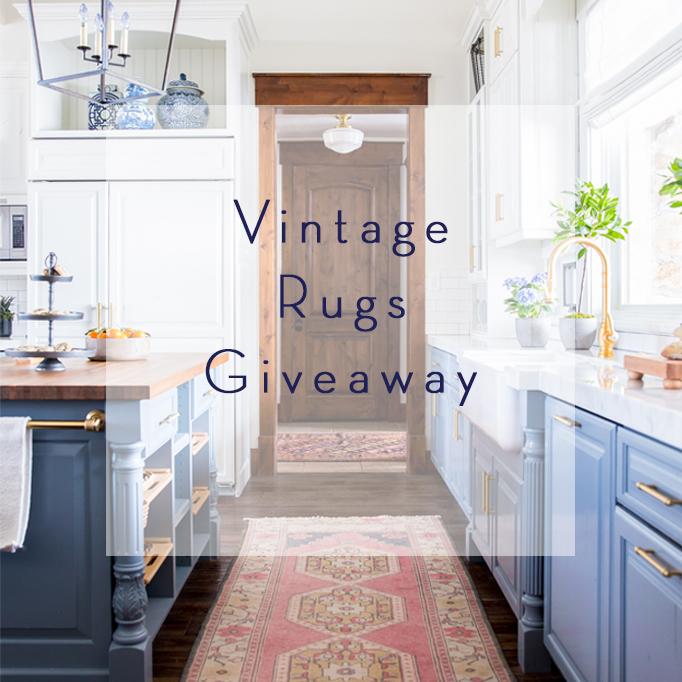 vintage rugs giveaway