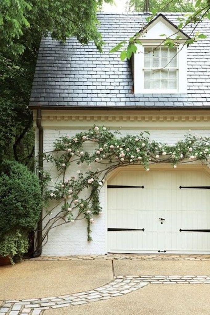 Spring Curb Appeal Gorgeous Garage Doorsbecki Owens