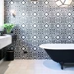 Bathroom Style Trend: Tile Statement Wall