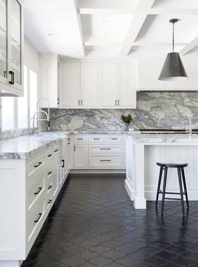 Pros and cons kitchen flooringbecki owens for Kitchen flooring options pros and cons