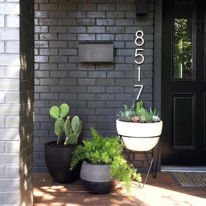 Pros and Cons: Painted Brick Exteriors - BECKI OWENS on Brick House Painting Ideas  id=79430