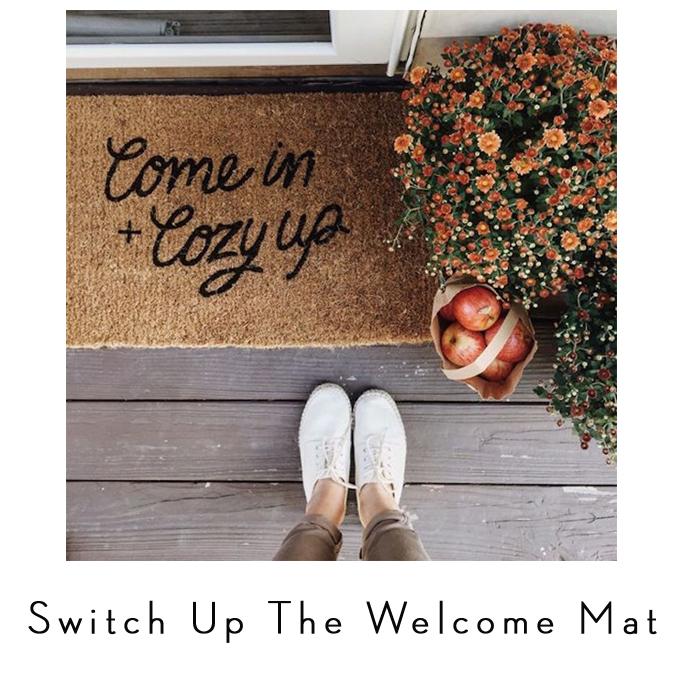 fall doormat