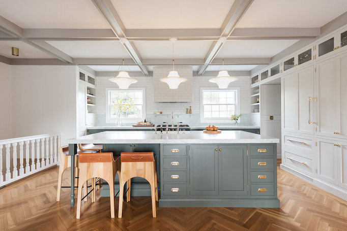 Box Street Designs. Two Toned Cabinets Can Make A Kitchen ...