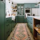 2018 Trend Update: Green Kitchens