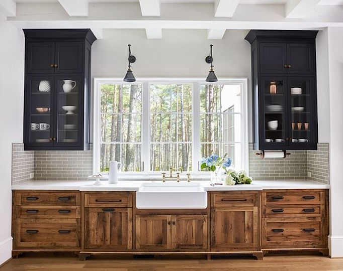 2018 Trend Update Two Toned Kitchens Becki Owens