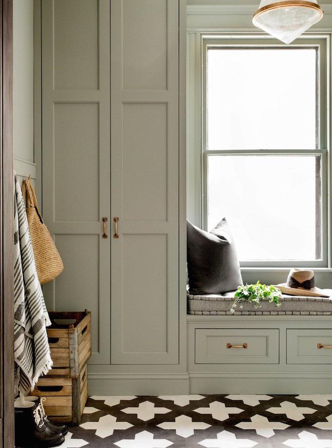 2018 Trend Sage Green Cabinetry Becki Owens