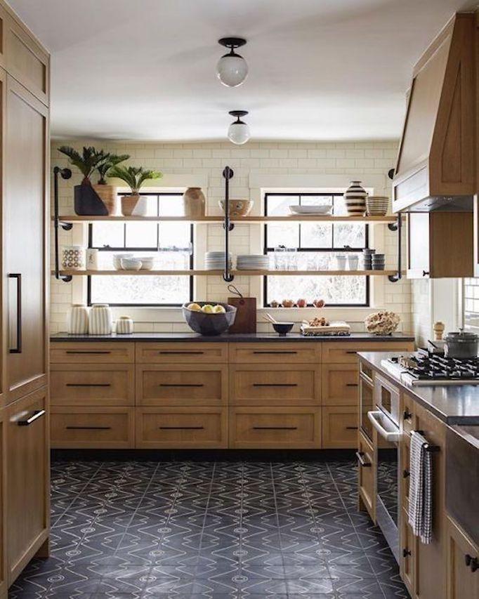 Design Trend Black Tile Kitchens Becki Owens