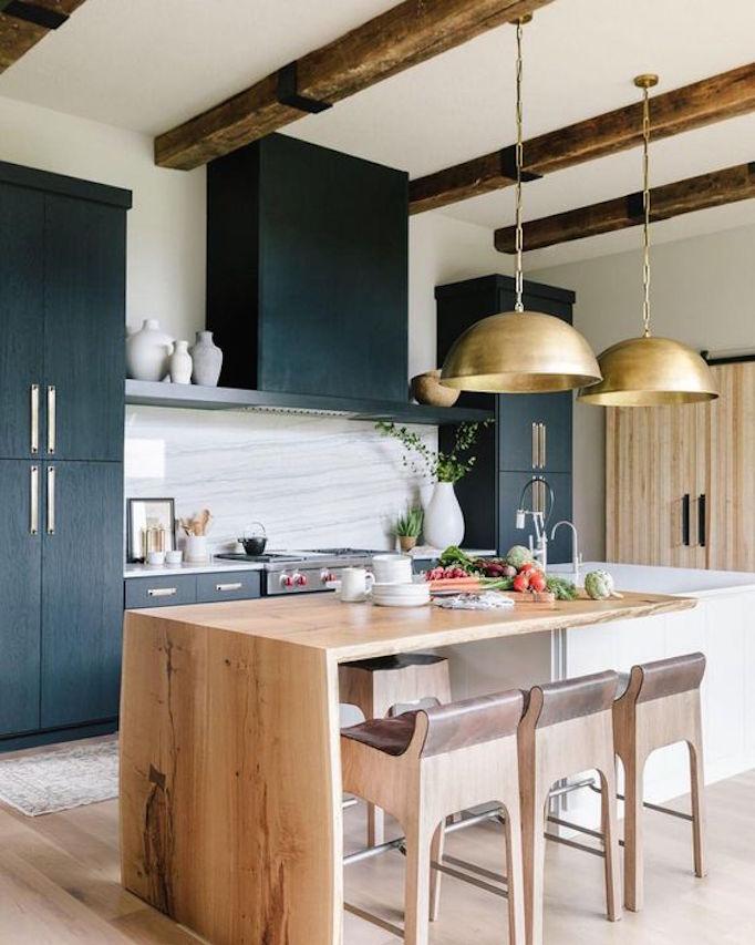 3 White And Wood Dream Kitchens Becki Owens