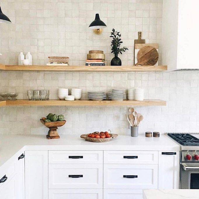 Quick Guide 5 Beautiful Backsplash Tiles For White Kitchens Becki Owens