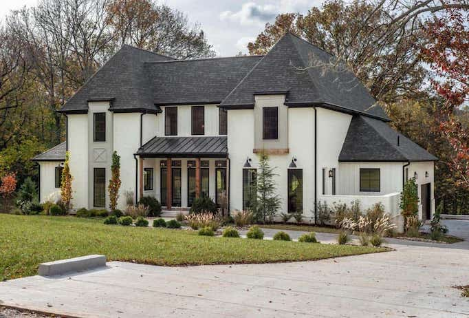 Dream Home A White Brick New Traditional In Nashvillebecki
