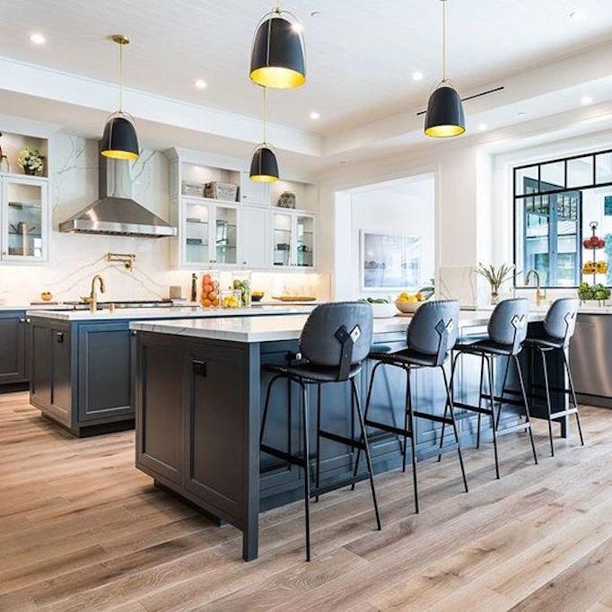 Dream Home: A Luxurious Modern Farmhouse in Encino ... on Luxury Farmhouse Kitchen  id=21935
