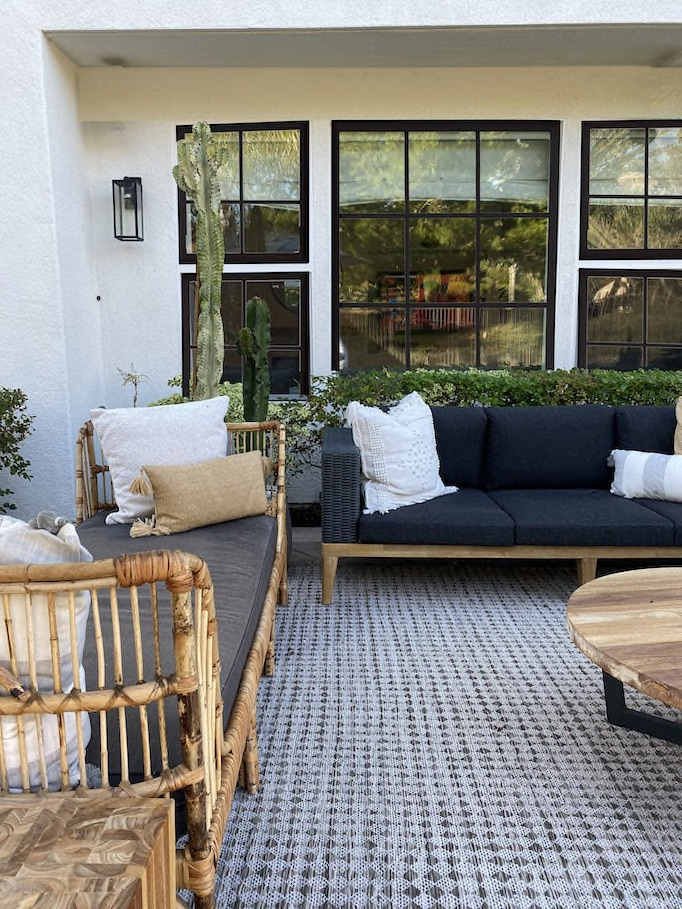 Fabulous Before And After Fall Outdoor Refresh With Articlebecki Owens Unemploymentrelief Wooden Chair Designs For Living Room Unemploymentrelieforg