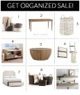 Get Organized Sale up to 40% off!
