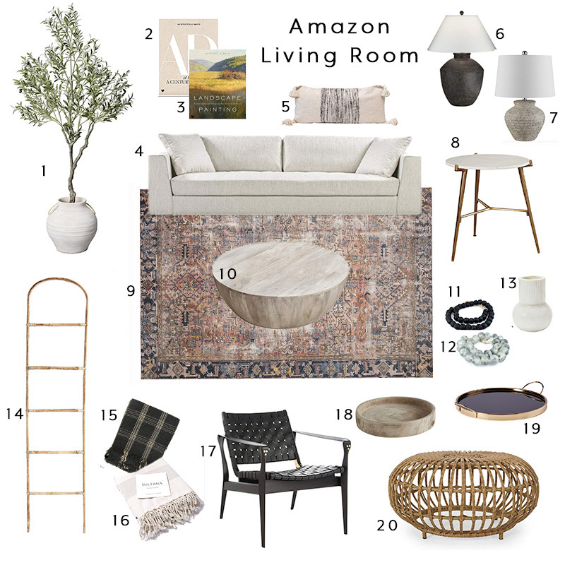 amazon home living space
