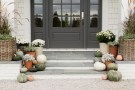 Front Porch Planters for Fall