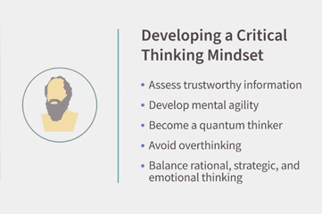 Developing a Critical Thinking Mindset