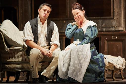 Erwin Schrott (Figaro) and Anita Hartig (Susanna) © Mark Douet | ROH