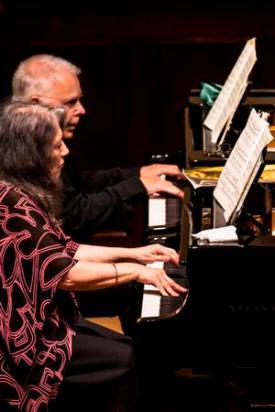 Martha Argerich and Stephen Kovacevich © Simon Jay Price