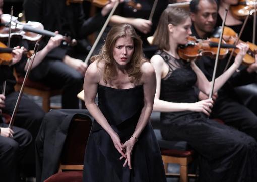 Barbara Hannigan (Agnès) © Javier del Real   Teatro Real