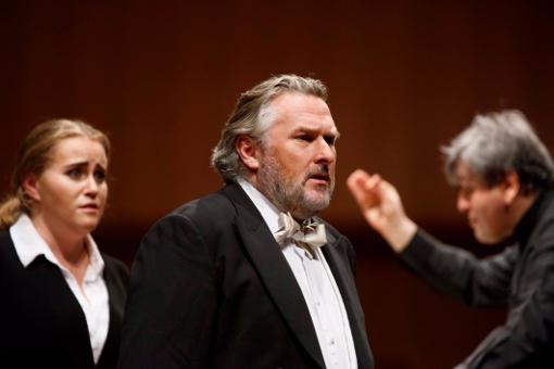 Rachel Willis-Sørensen, Simon O'Neill and Sir Antonio Pappano © Riccardo Musacchio & Flavio Ianniello