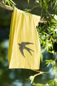 The Color Yellow Beckons Yoga Clothing Meaning of Yellow Bird Infinitiy Scarf