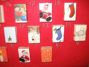 Beckon Yoga Clothing DIY Advent Calendar Close up of boxes